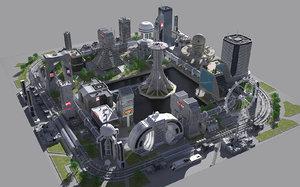 city block 2 model