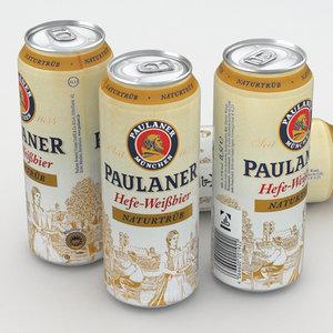 3D beer bier model