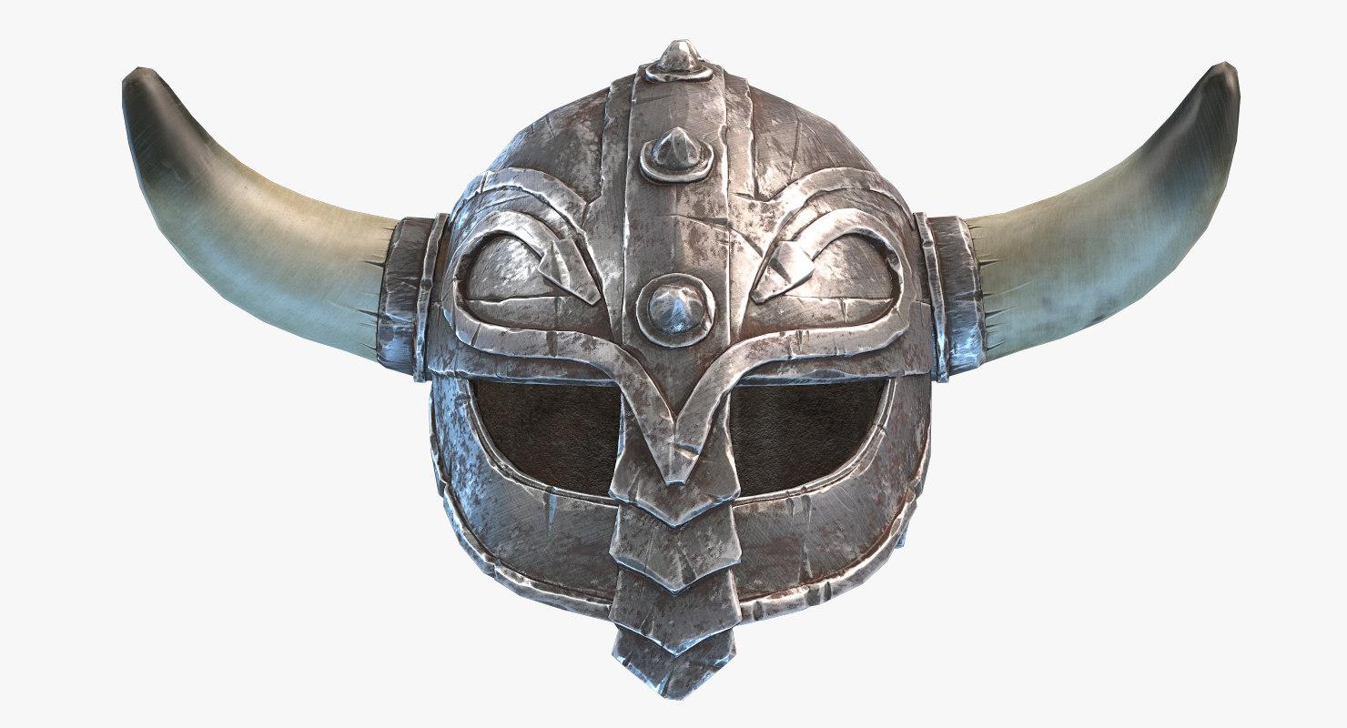 3D viking helmet