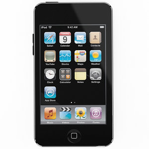 3D model ipod touch