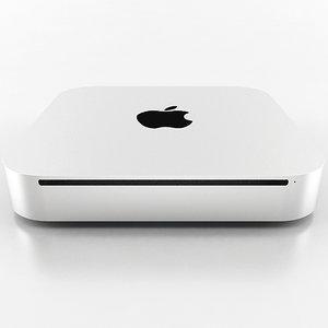 apple mac mini 3D model