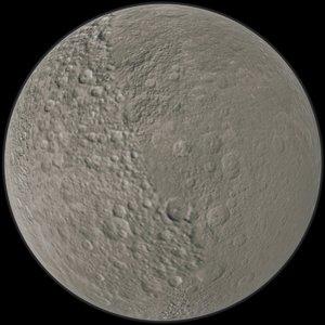 3D moon rhea model