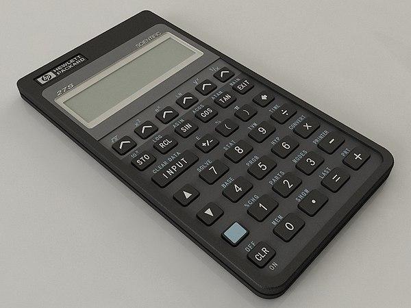 3D calculator hp