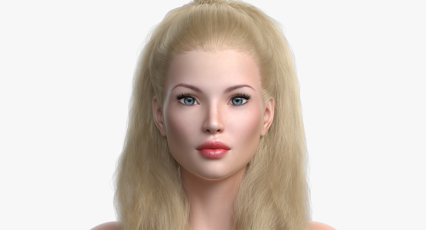 princess angie 2 0 3D model