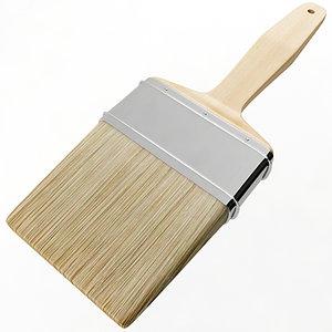 3D model paint brush