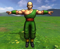 tien shinhan dragon ball 3D model