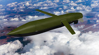 agm-129 advanced cruise missile 3D
