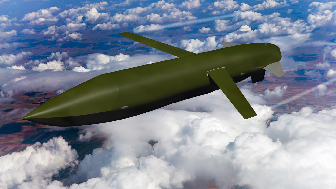 agm-129 advanced cruise missile 3D