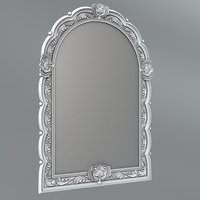Frame for a mirror 38