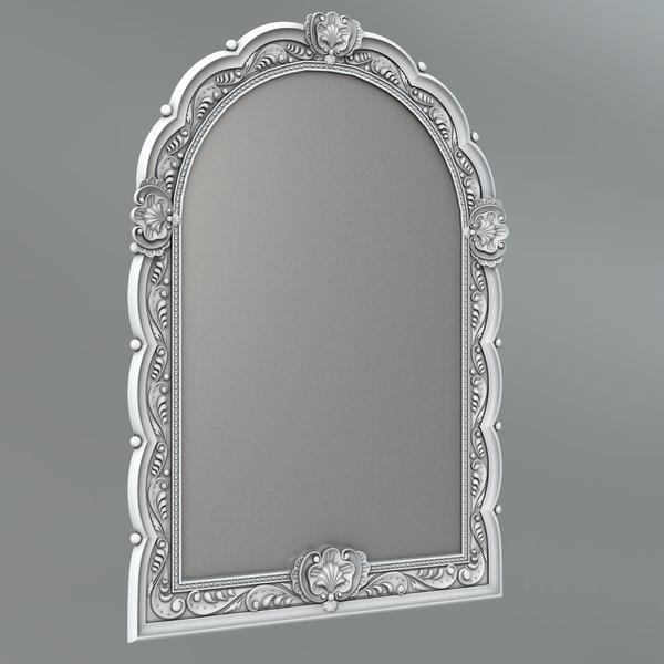 classical decoration ornamental 3D