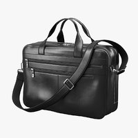 3D realistic men classic bag