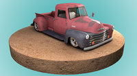 3D model 3100 pickup truck
