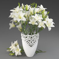 Bouquet of lilies-1