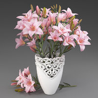 Bouquet of lilies-6