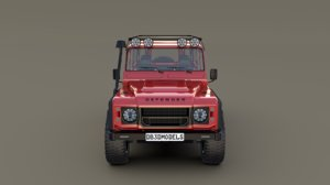 land rover defender 110 3D