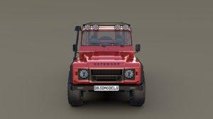 land rover defender 110 3D