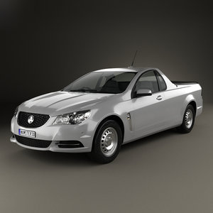 3D holden commodore evoke