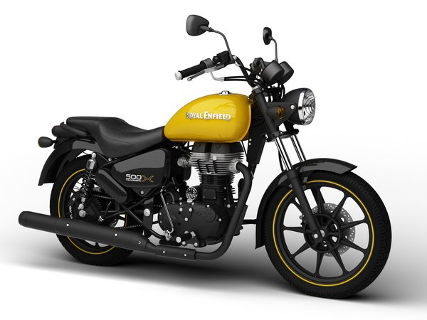 3D model royal enfield thunderbird 500x