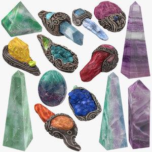 3D magic crystals