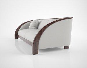 3D hughes chevalier norway sofa