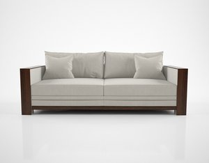 hughes chevalier charleston sofa 3D model