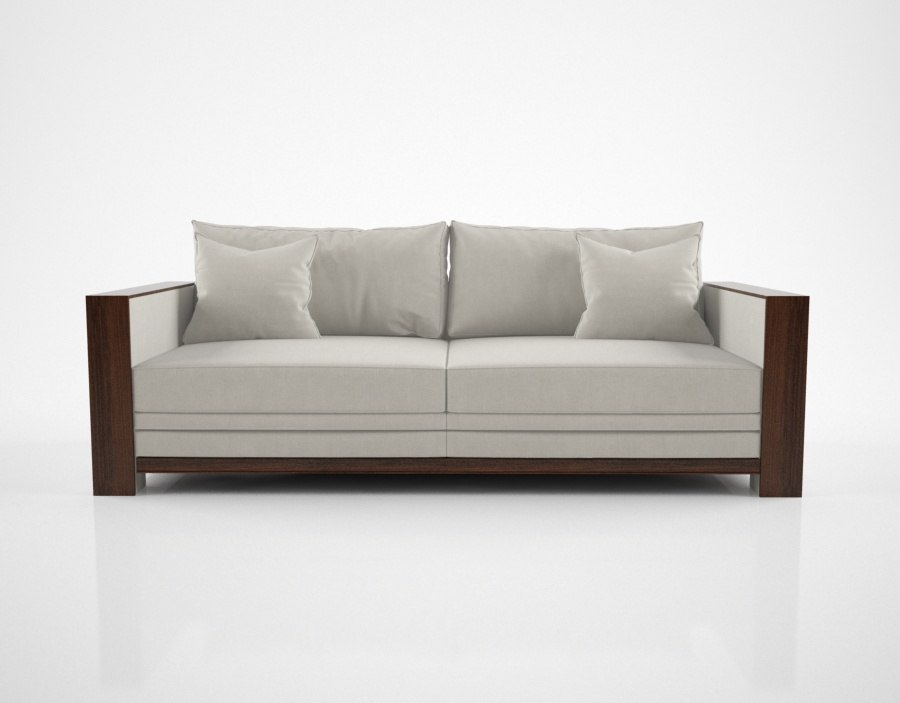 hughes chevalier charleston sofa 3D model