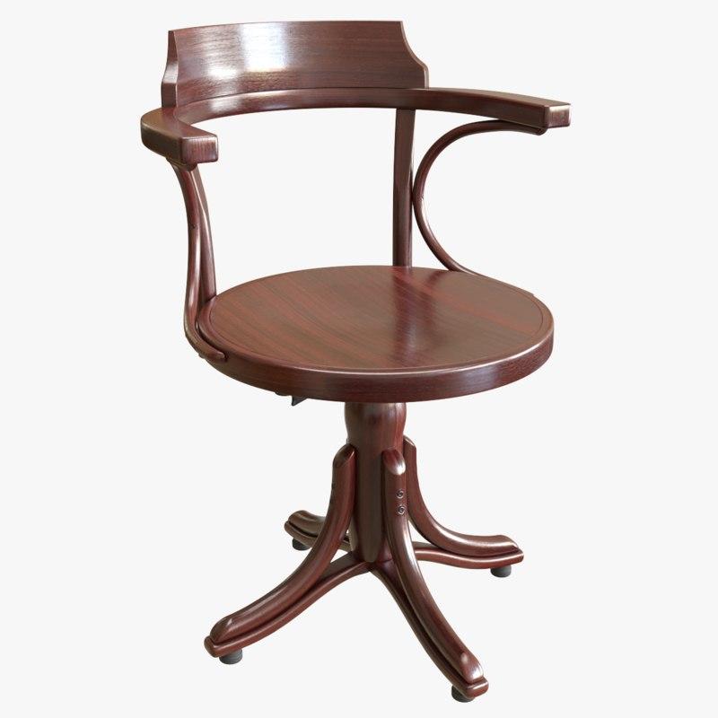 ton chair kontor 3D model
