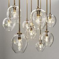 3D branching bubble 1 lamp