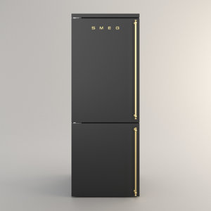 3D model smeg coloniale aesthetic
