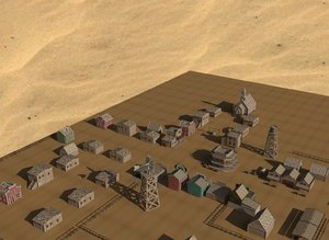 western town 3D