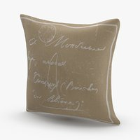 classical-throw-pillows---tan model