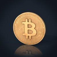 bitcoin coin 3D