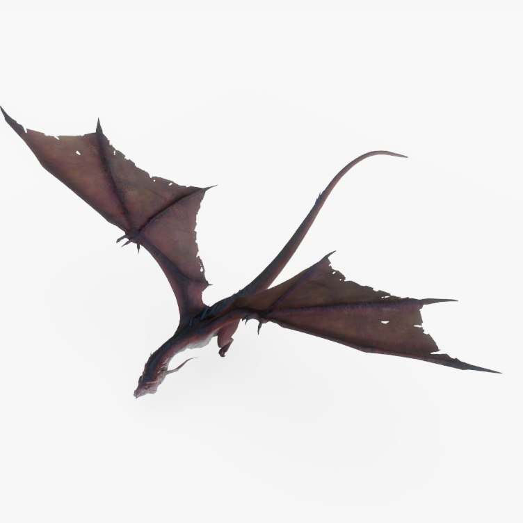 rig dragon animations 3D