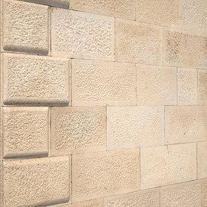 3D model stone walls