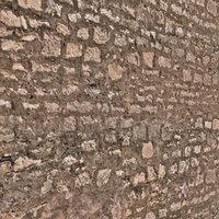 3D stone walls