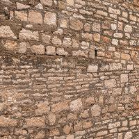 3D model stone walls 16