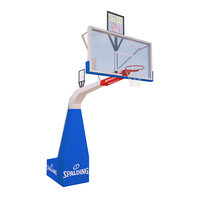 basketball backboard sport 3D