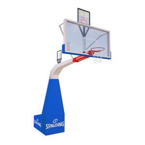 basketball backboard sport 3D