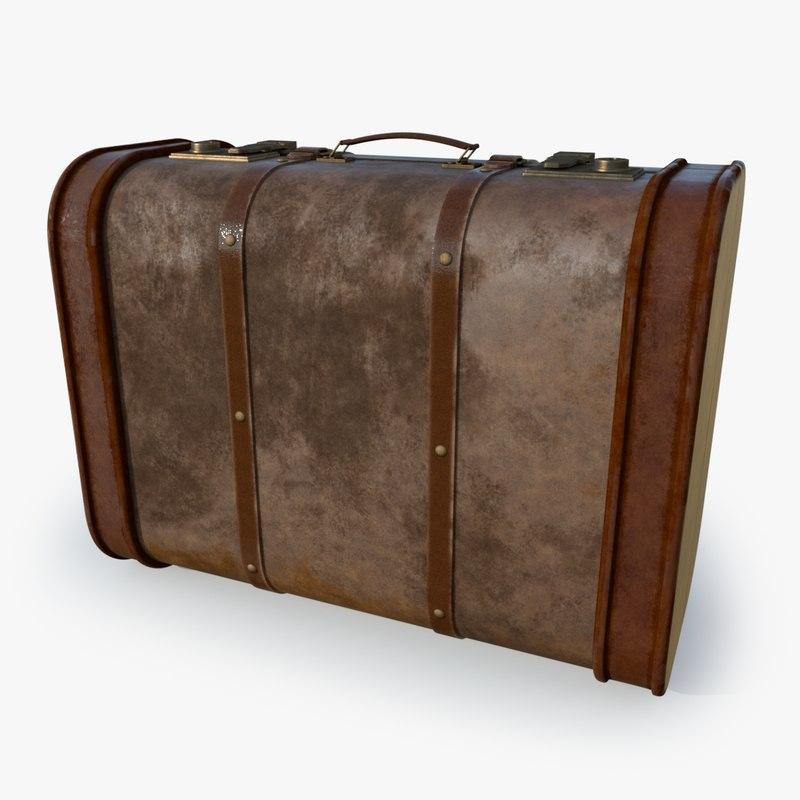 suitcase s case 3D