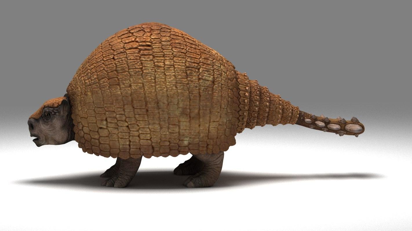 panochthus extinct ice model