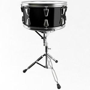 snare drum 3D model