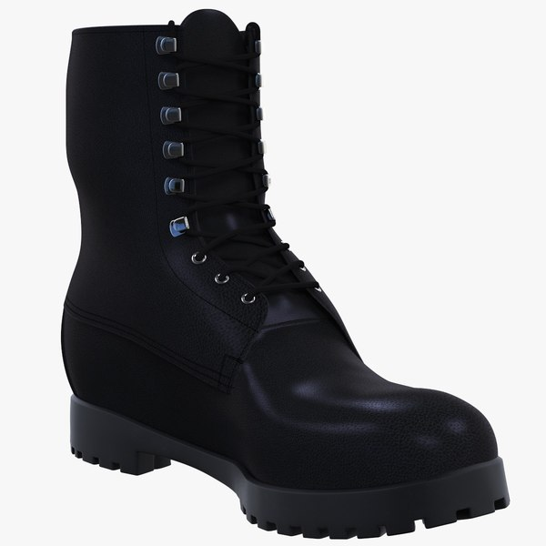 safety boot 3D