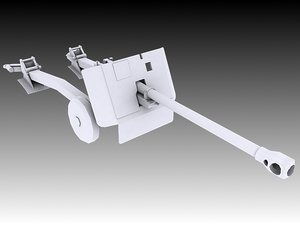 17 pounder 3D model
