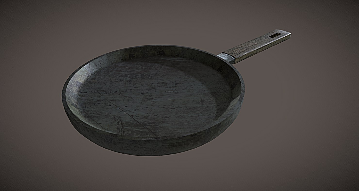 frying pan old model
