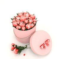 flowers peonies box 3D