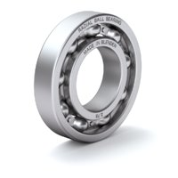 ball bearing radial 3D model