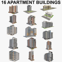 16 Apartment Buildings