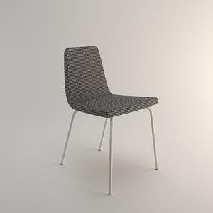 3D metalmobil aqua 158 chair