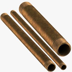 vintage brass pipes 15 model