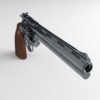 3D model revolver colt